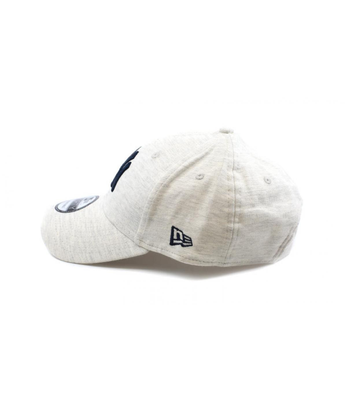 Détails Casquette Jersey Ess NY 940 white gray navy - image 4