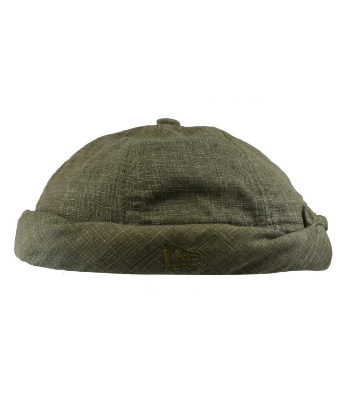 bonnet docker vert olive