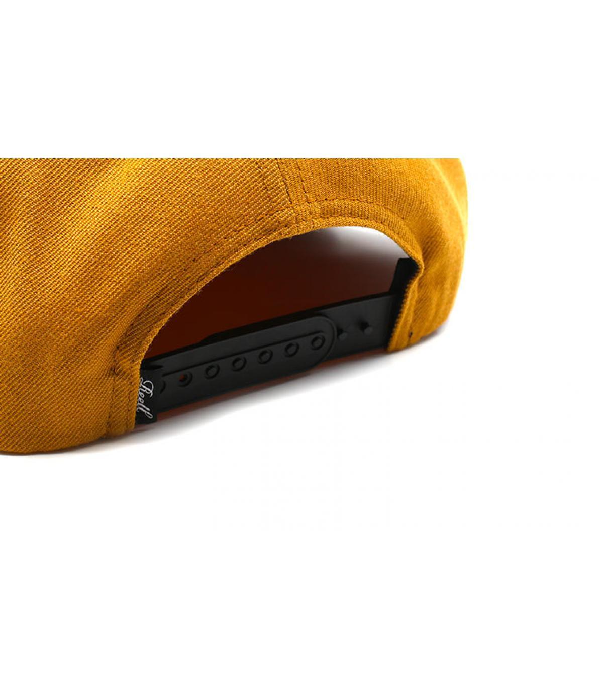 Détails Suede Cap Yellow brown - image 5
