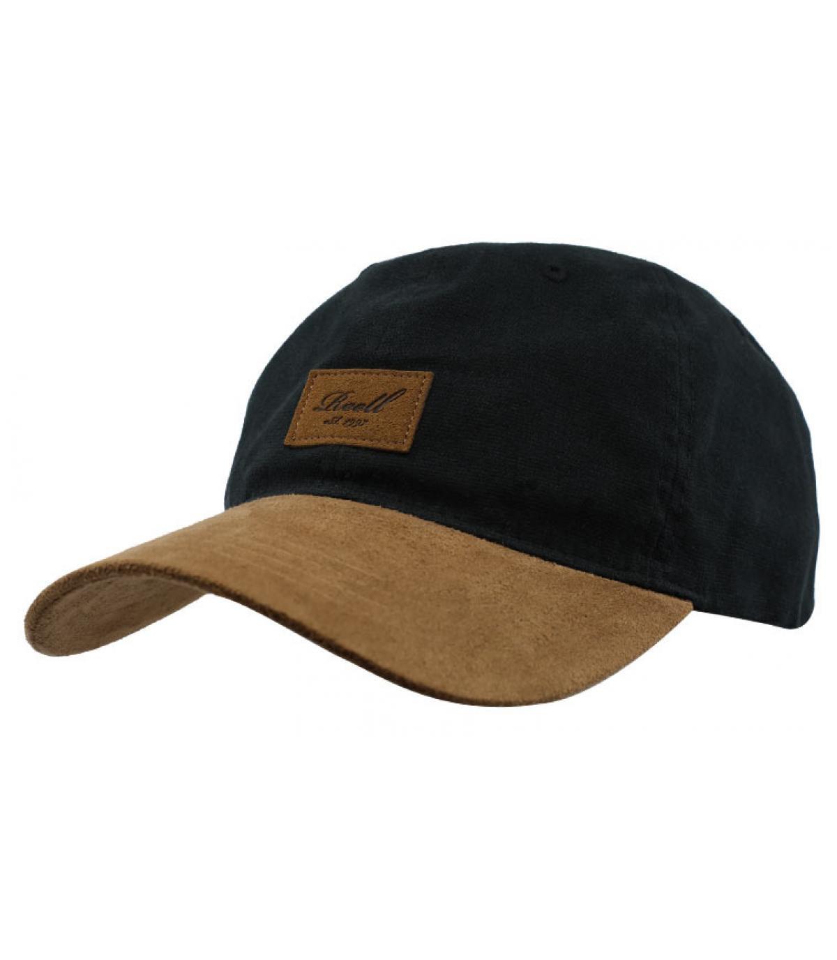 casquette noir suede Reell