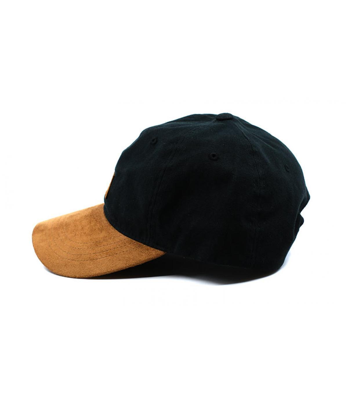 Détails Suede Tone Cap black - image 4