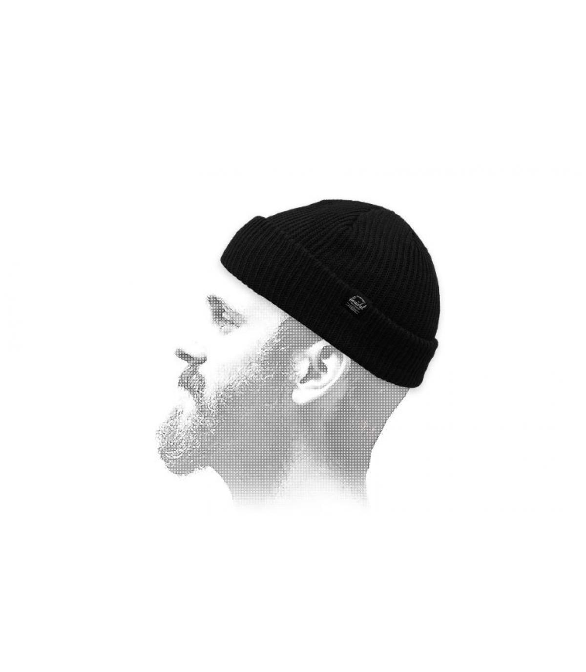 bonnet docker noir Herschel