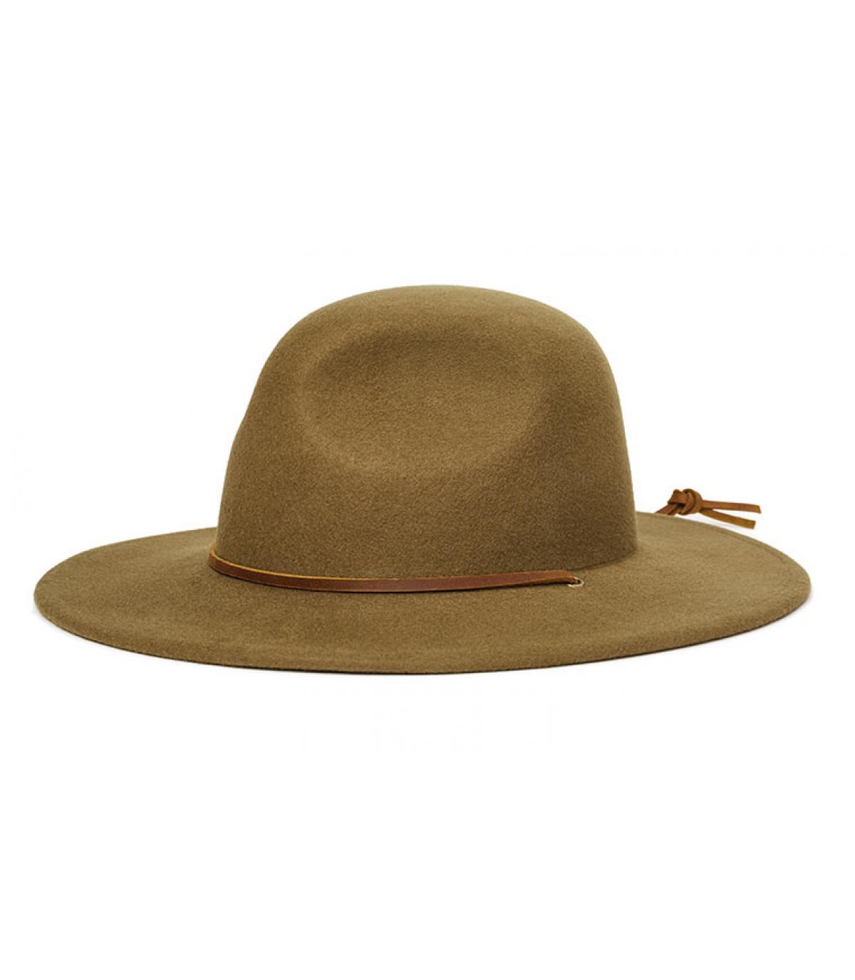 chapeau feutre olive