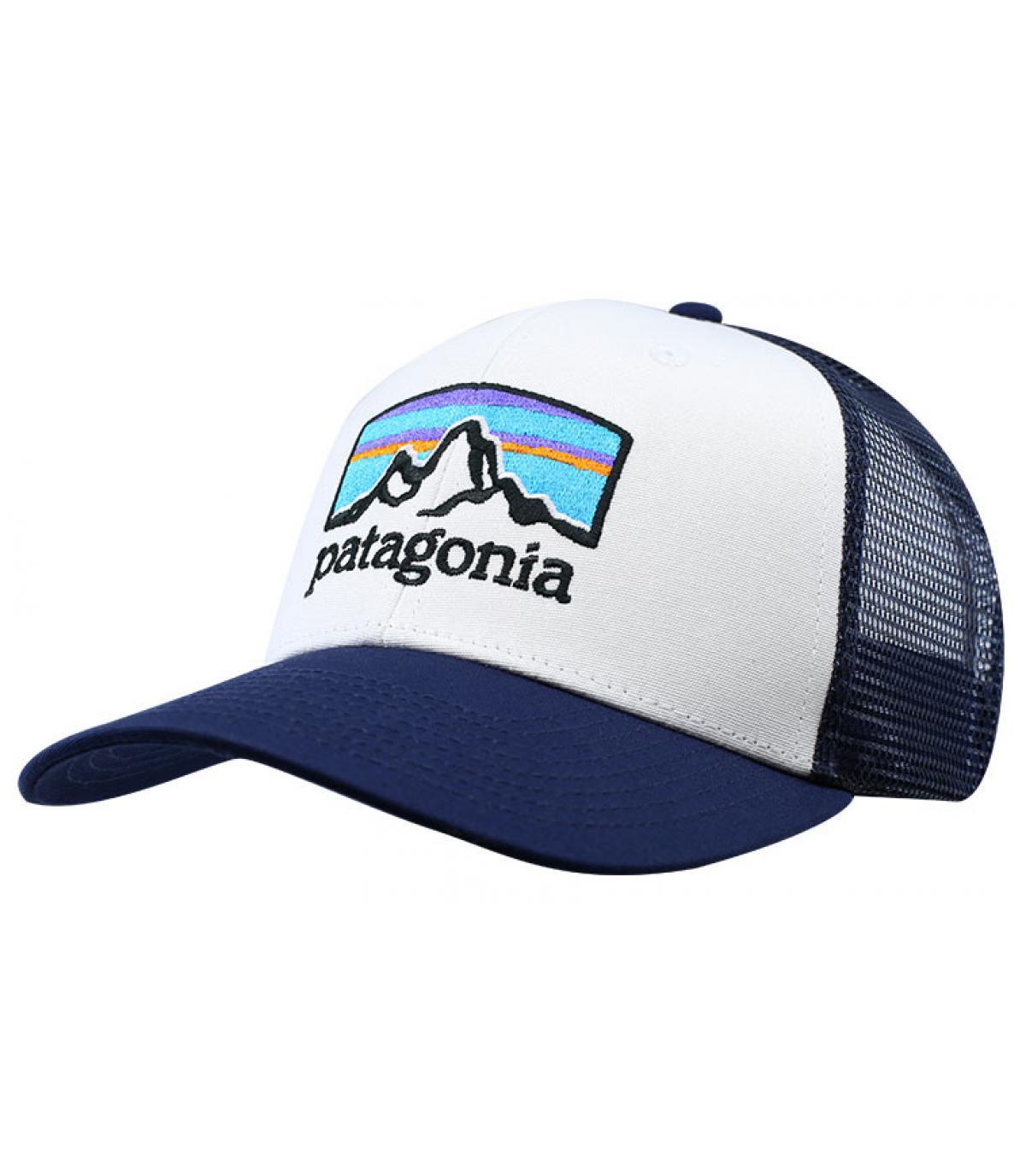 trucker bleu Fitz Roy Patagonia