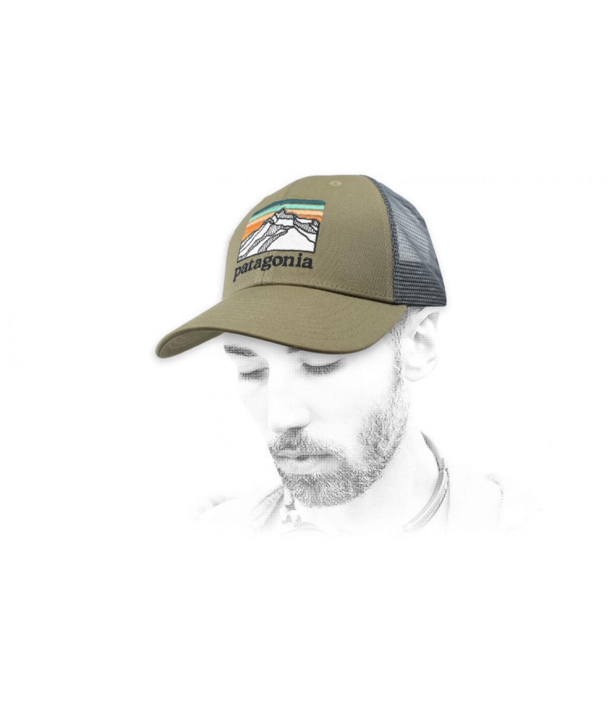 trucker vert Patagonia