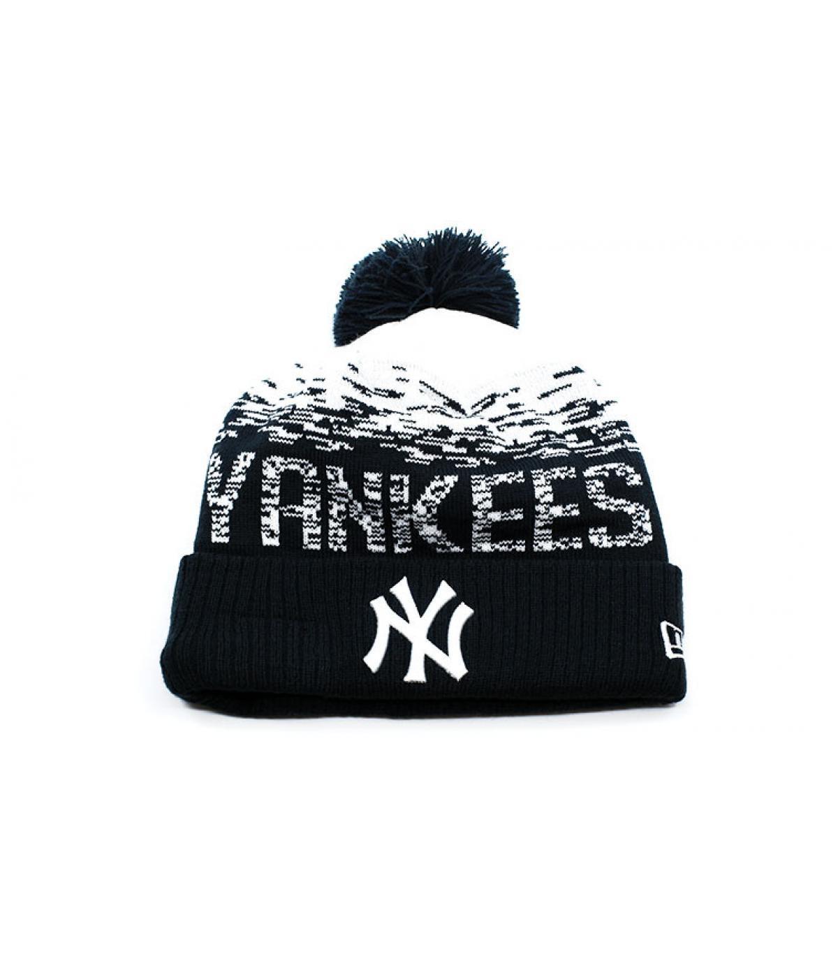Détails Bonnet MLB Sport Knit NY - image 2