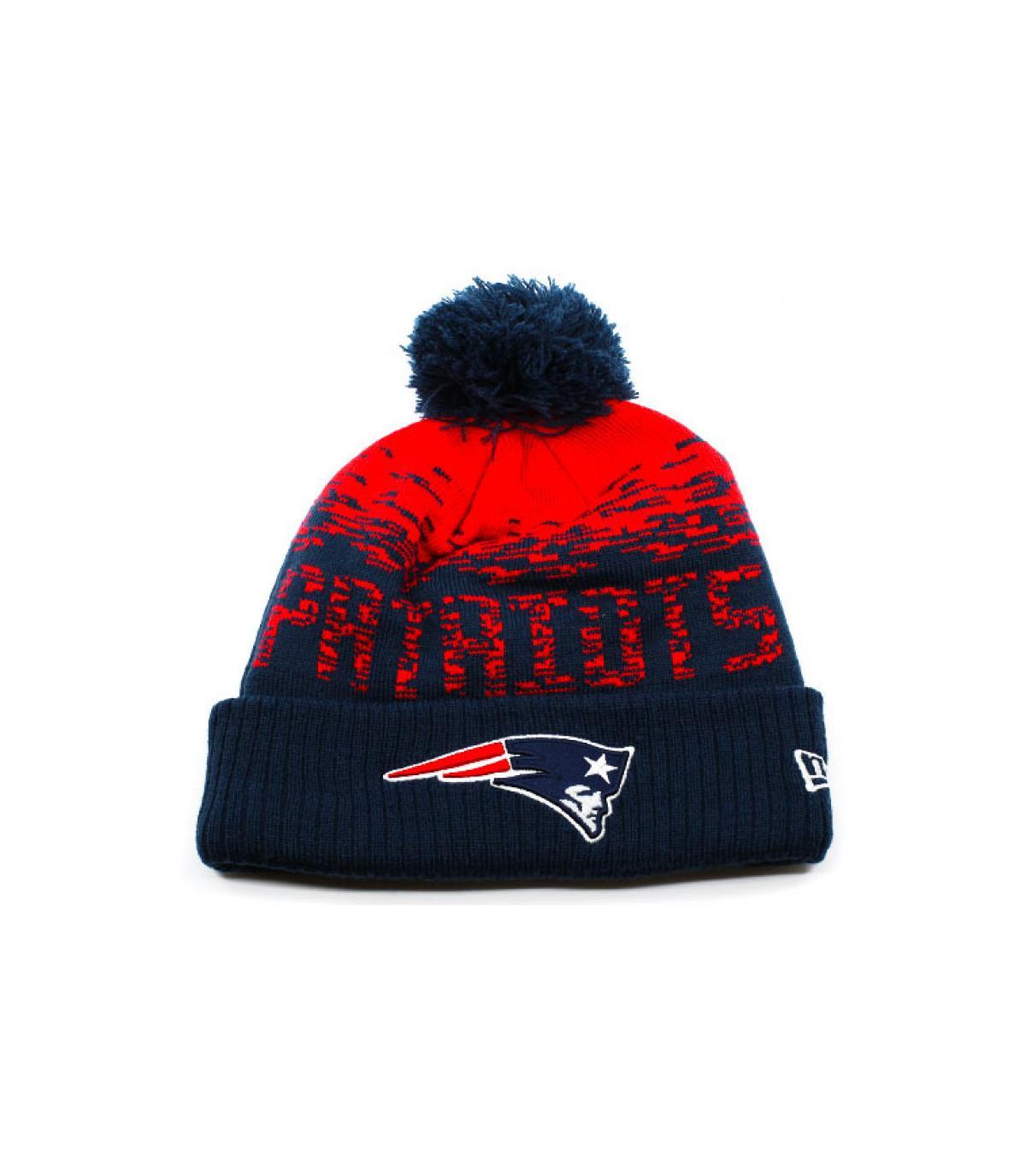 Détails Bonnet MLB Sport Knit Patriots - image 2