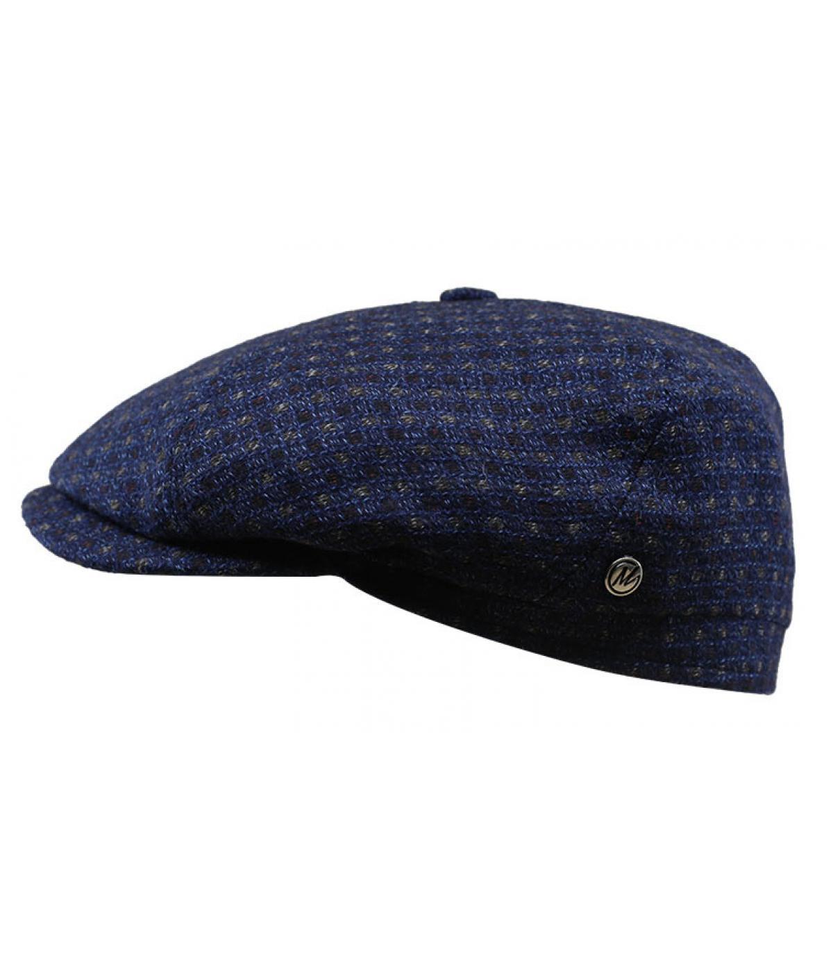 béret bleu marine laine cachemire
