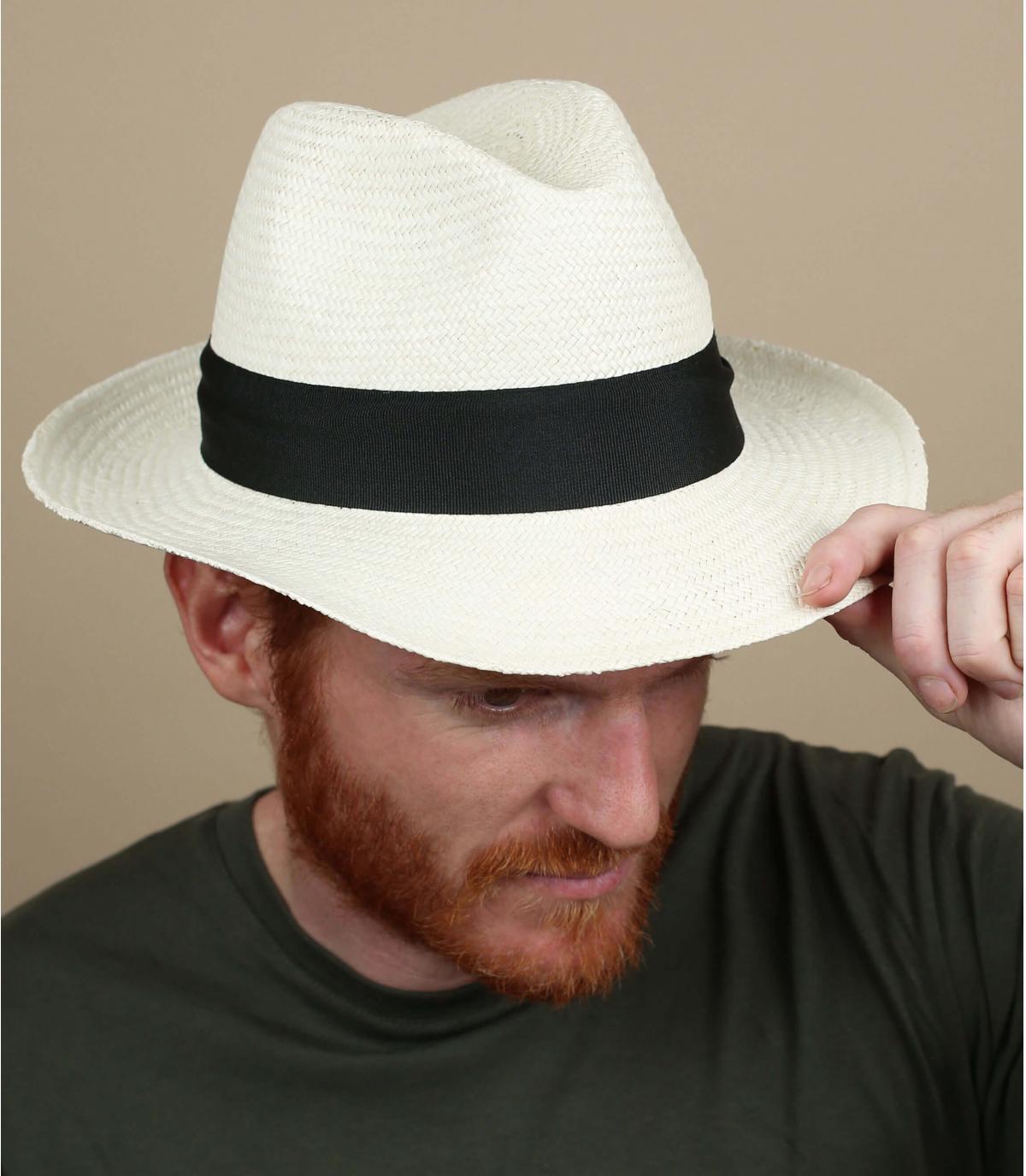 Panama grand bord homme