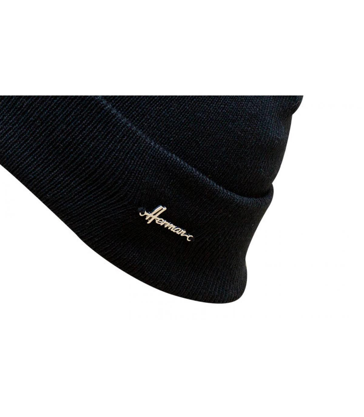 bonnet revers bleu marine