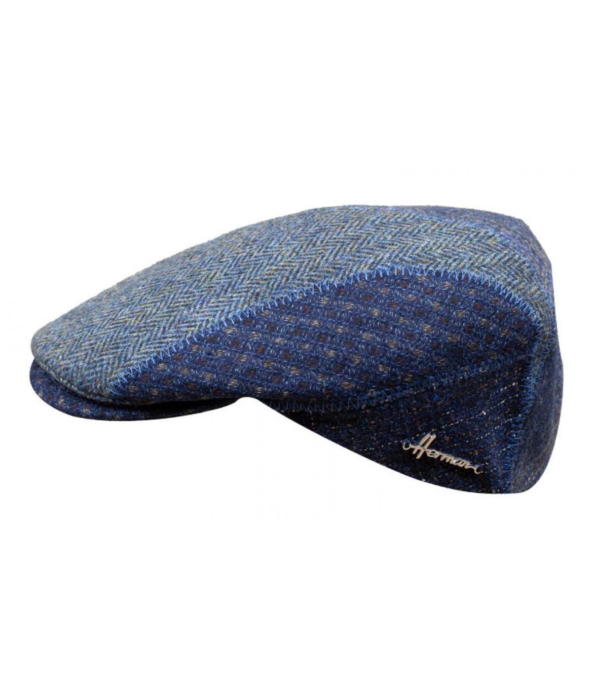 béret bleu patchwork