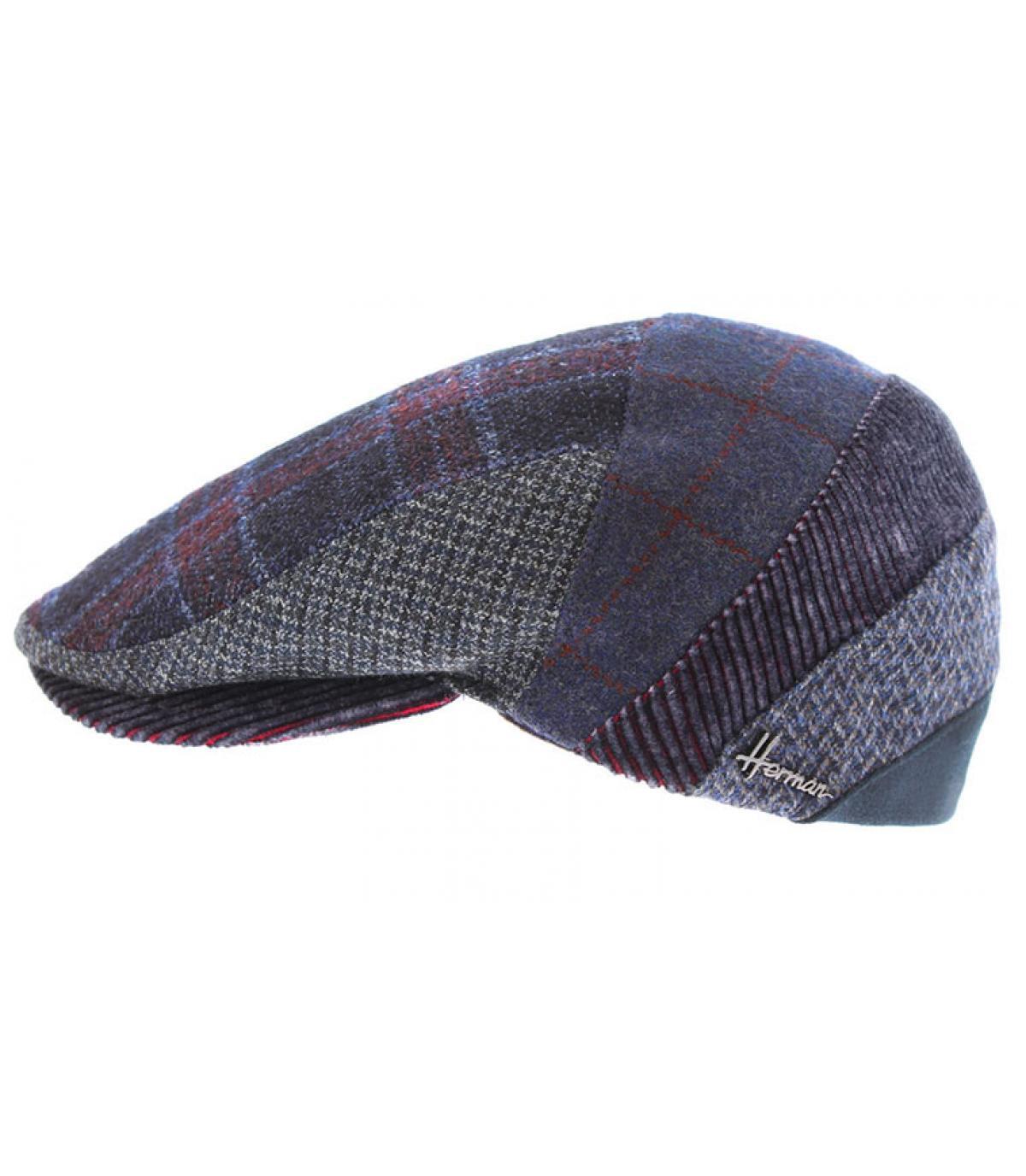 béret laine multicolore
