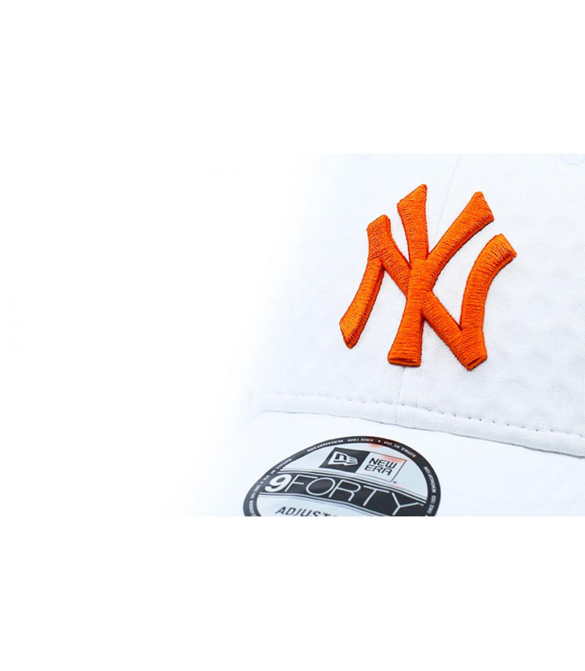 Détails Casquette Dry Switch NY 940 white rust - image 3
