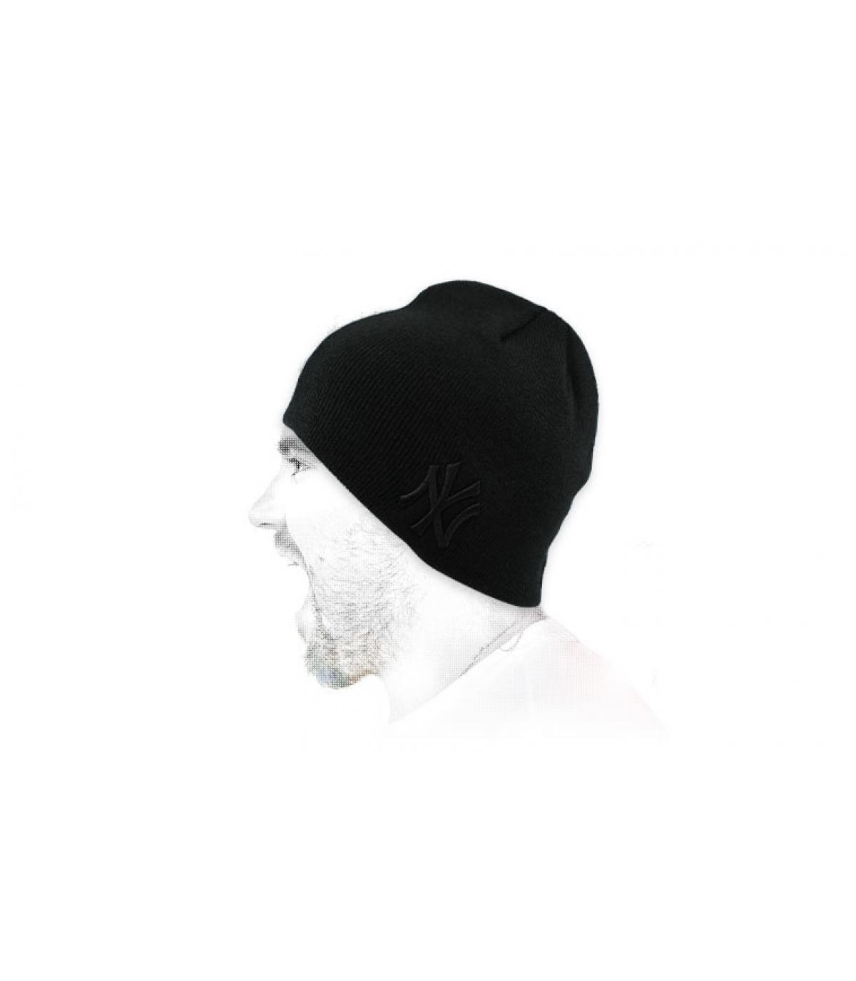 bonnet NY noir