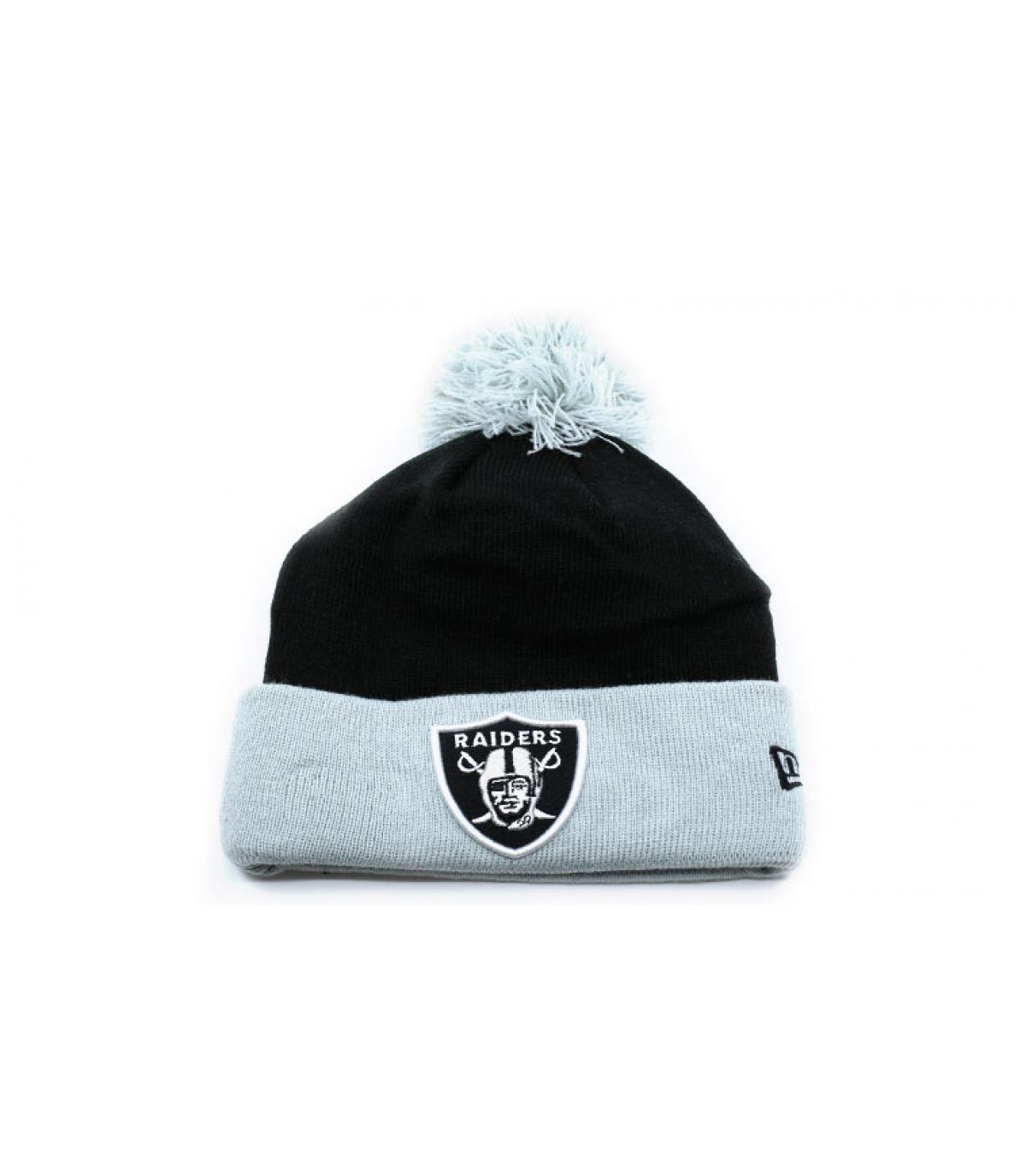 bonnet Raiders noir