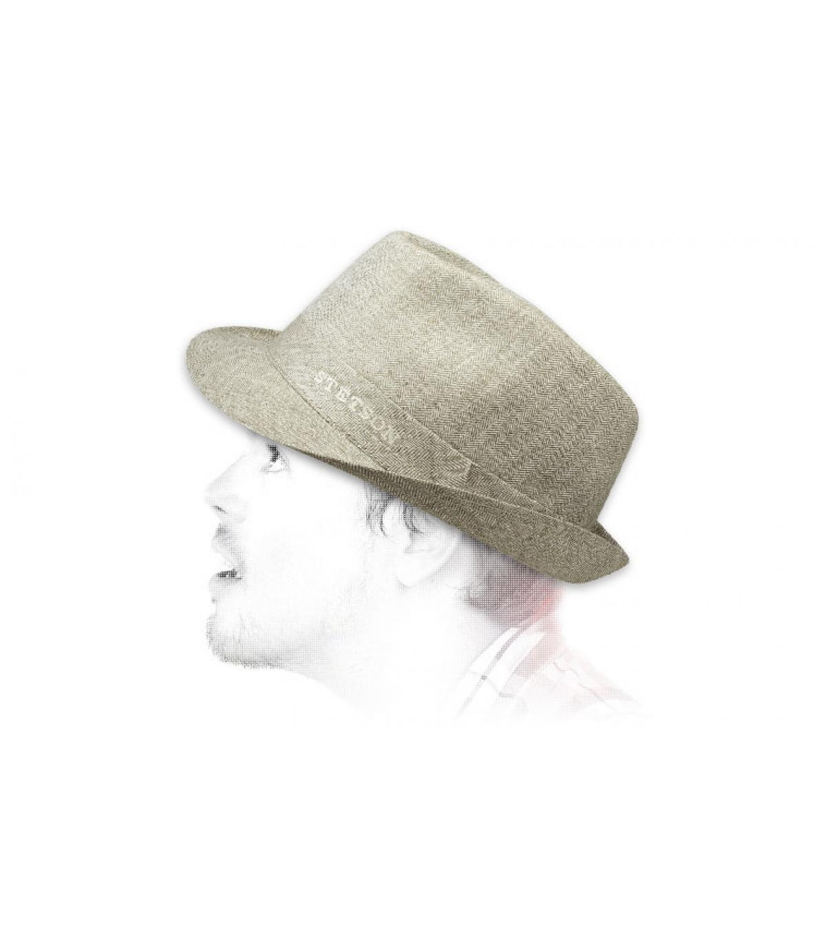 Détails Chapeau Osceola khaki beige - image 3