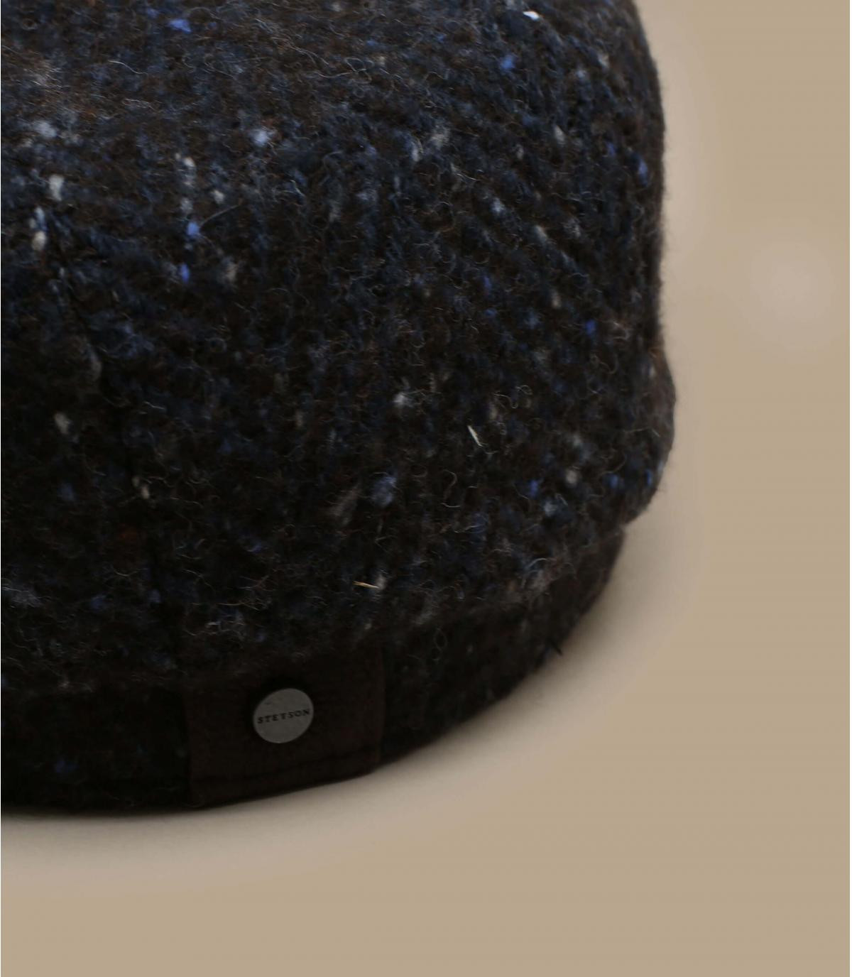casquette gavroche bleu chiné