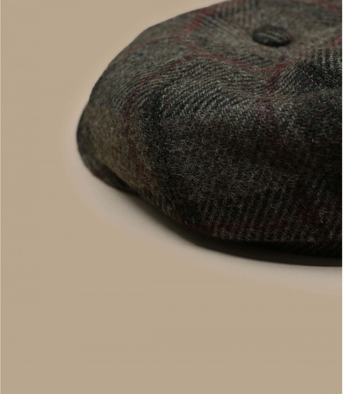 casquette gavroche laine carreaux
