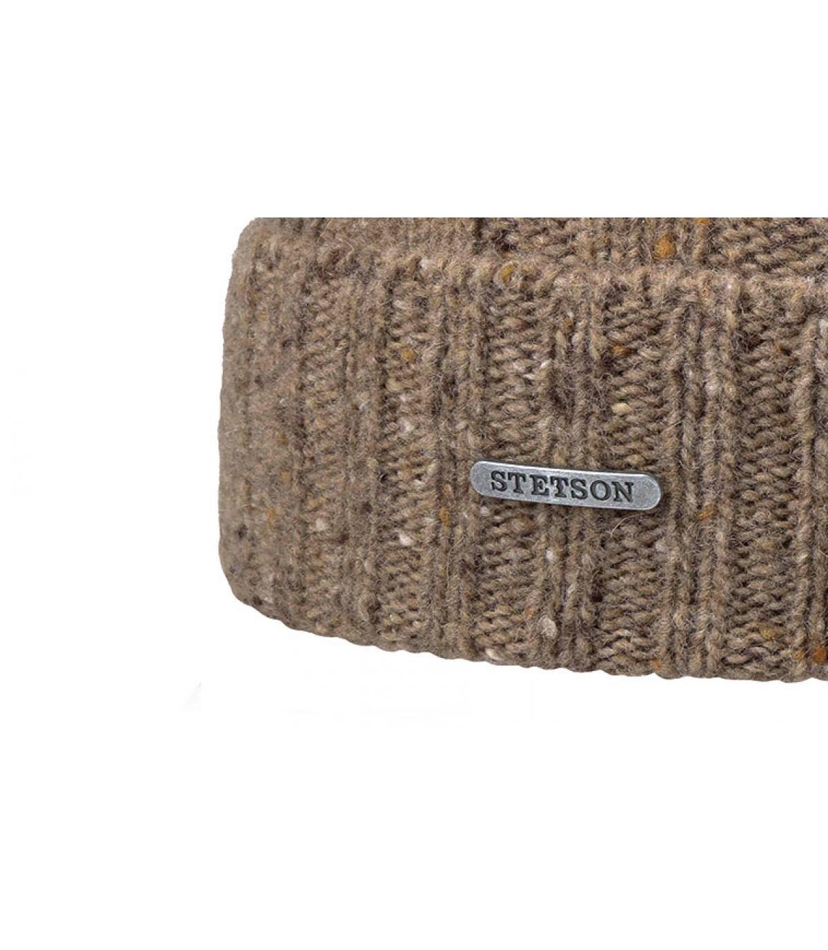 Détails Beanie Wool Beige - image 3