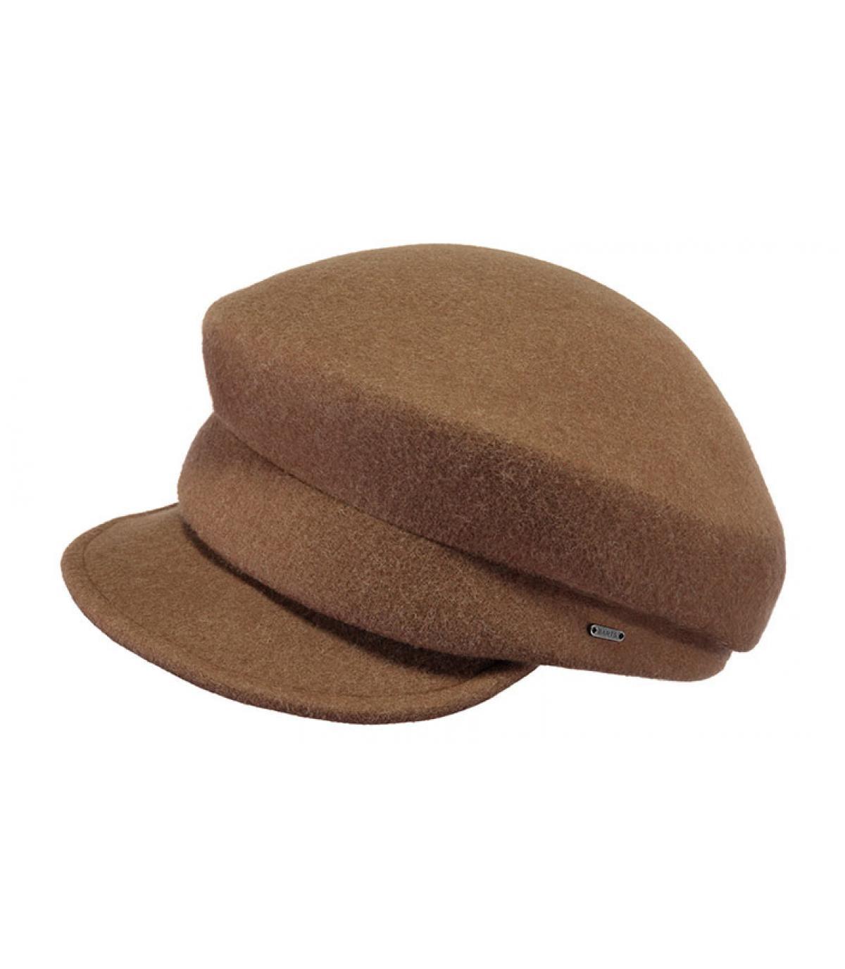 béret laine marron