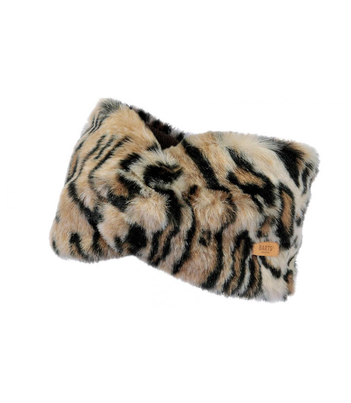 bandeau léopard Barts