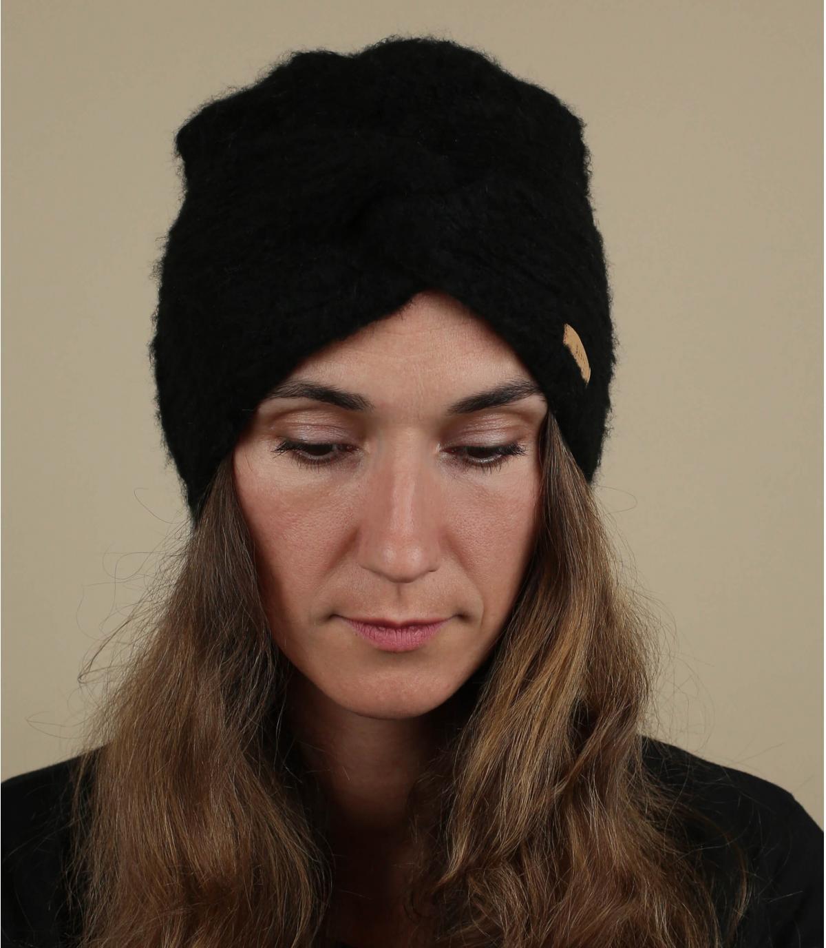 turban noir Barts