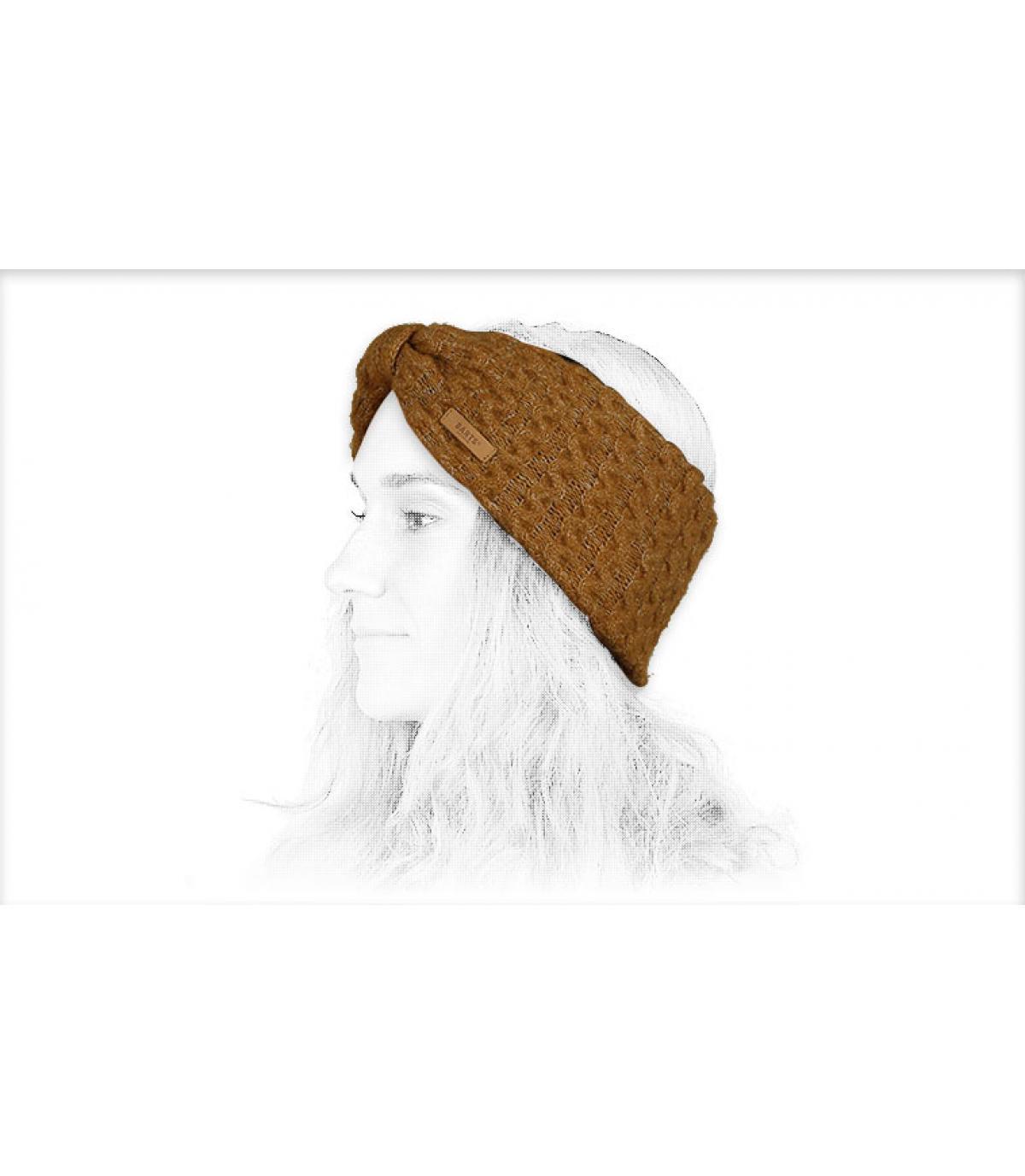 Détails Patina Headband ochre - image 4