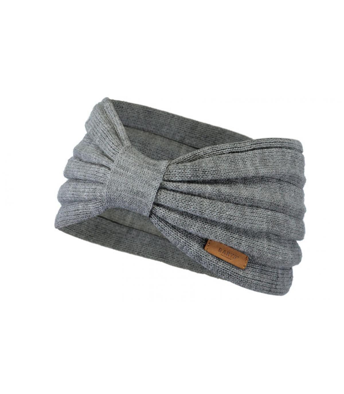 bandeau gris noué