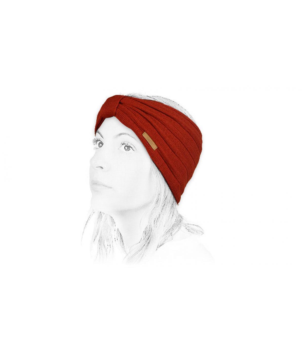 Détails Zitoun Headband rust - image 4