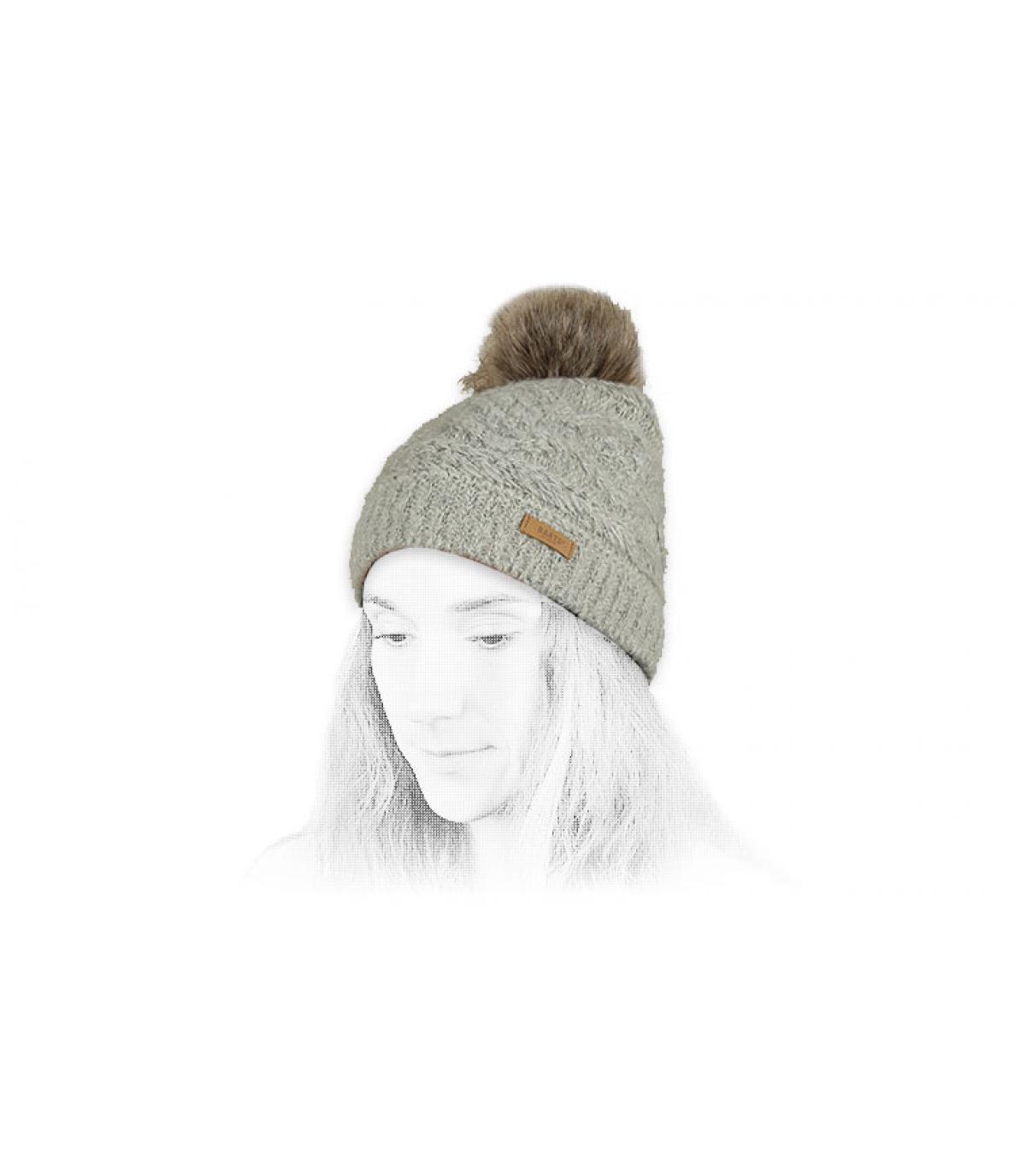Détails Antonia Beanie cream - image 4