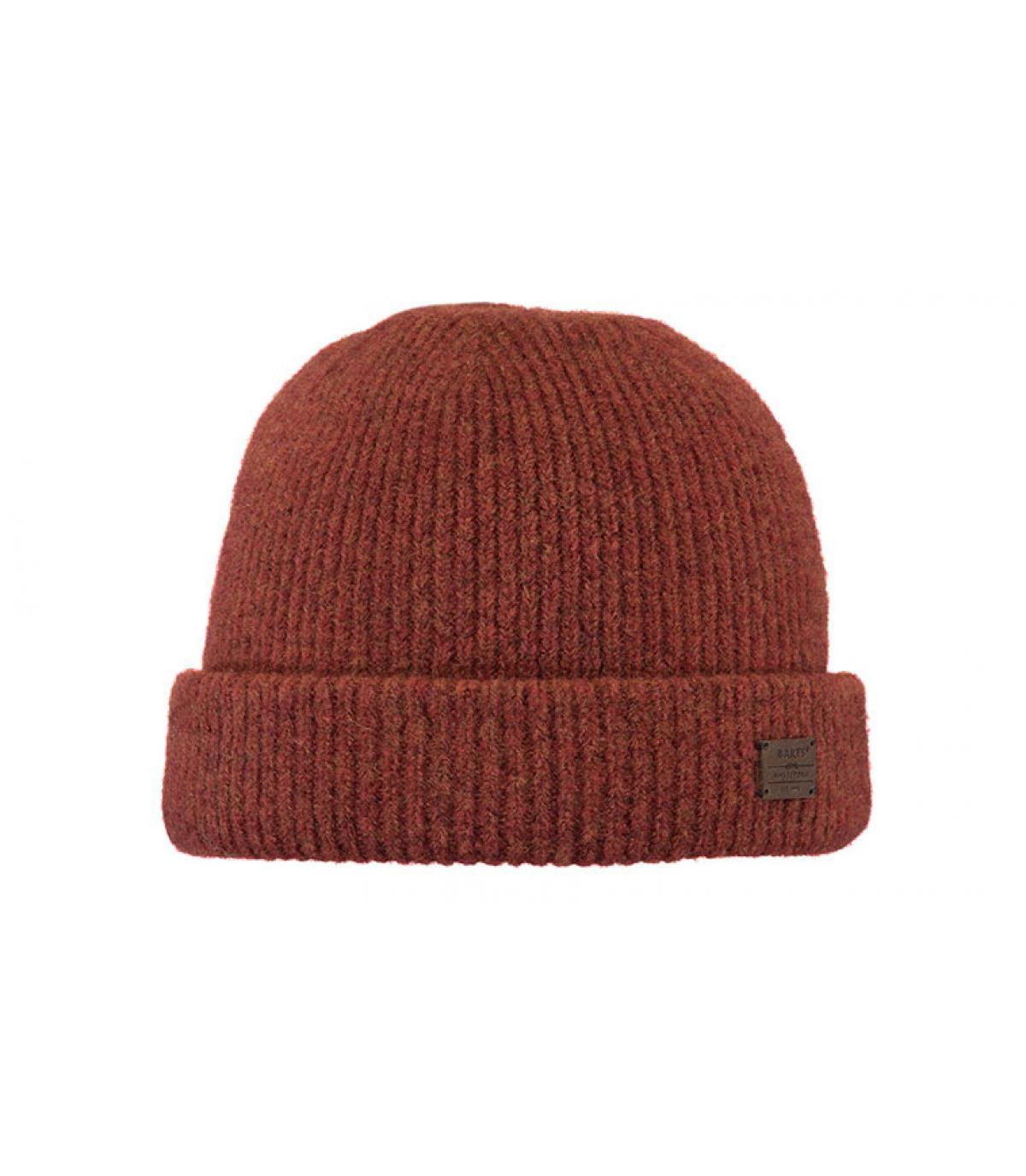 Détails Andreso Beanie rust - image 2