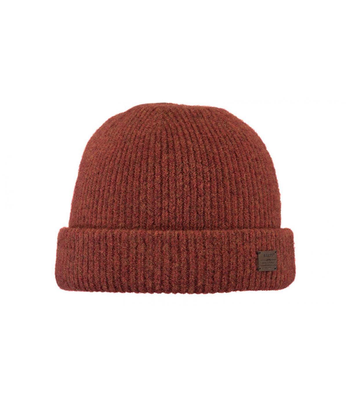 bonnet laine yak rouge
