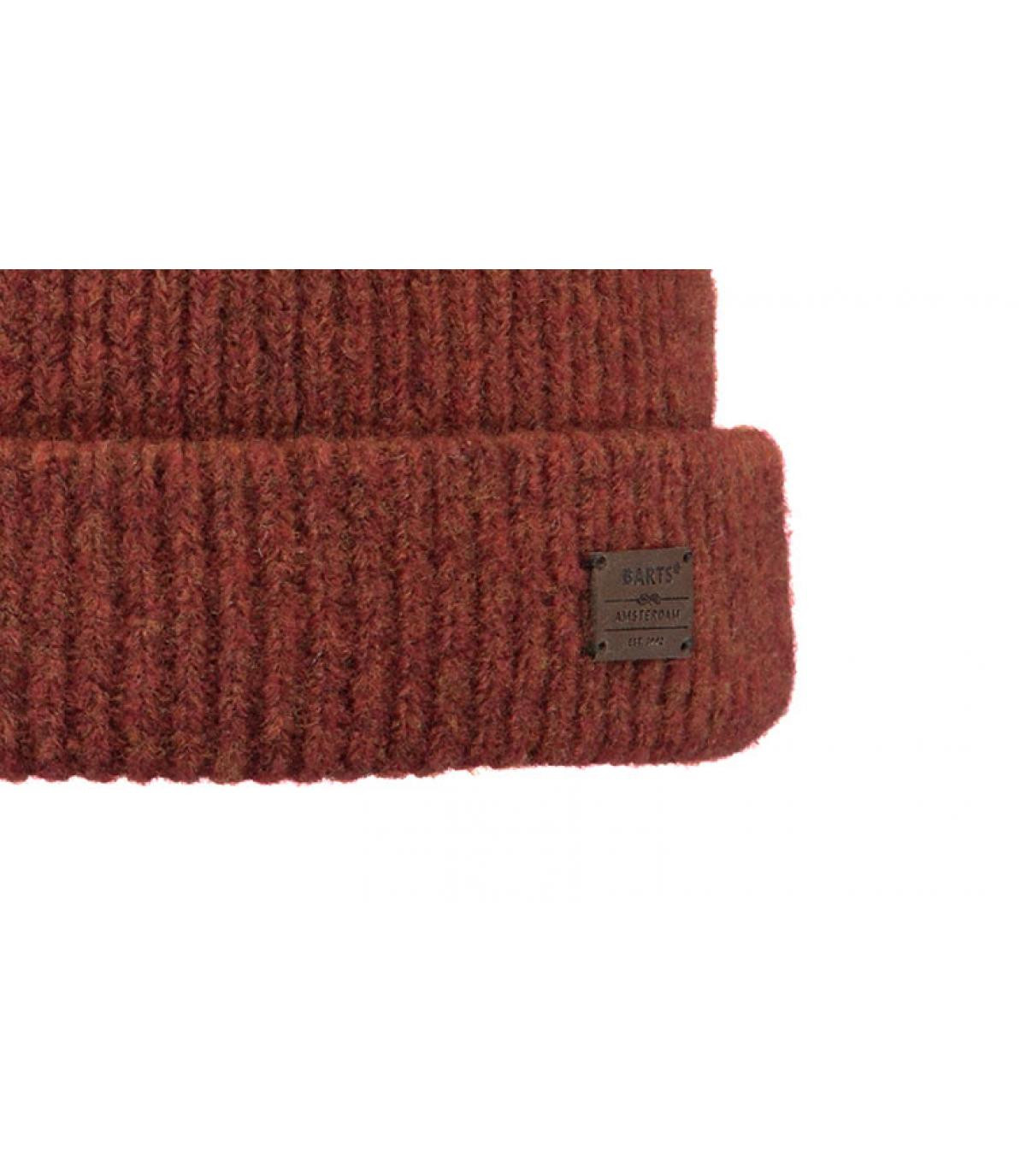 Détails Andreso Beanie rust - image 3