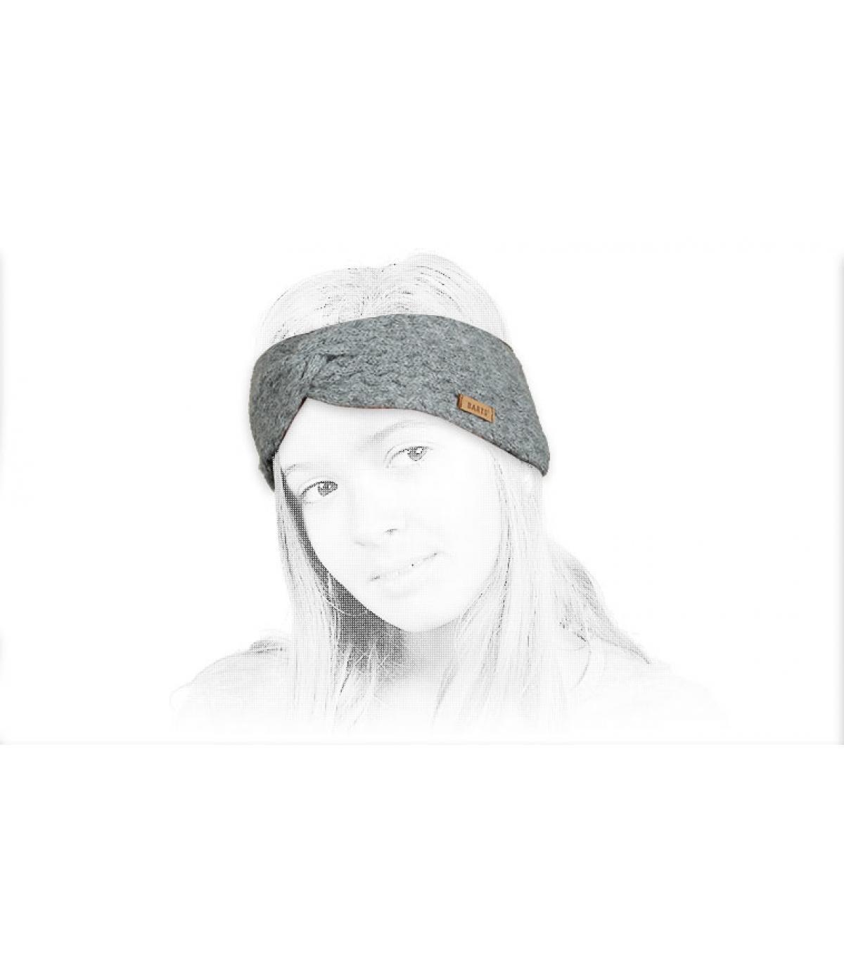 Détails Kids Rozamond Headband heather grey - image 4