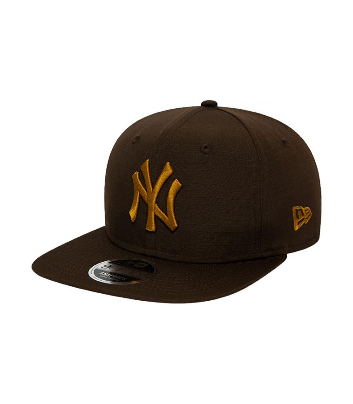 Détails Snapback MLB Utility NY 950 brown old gold - image 2