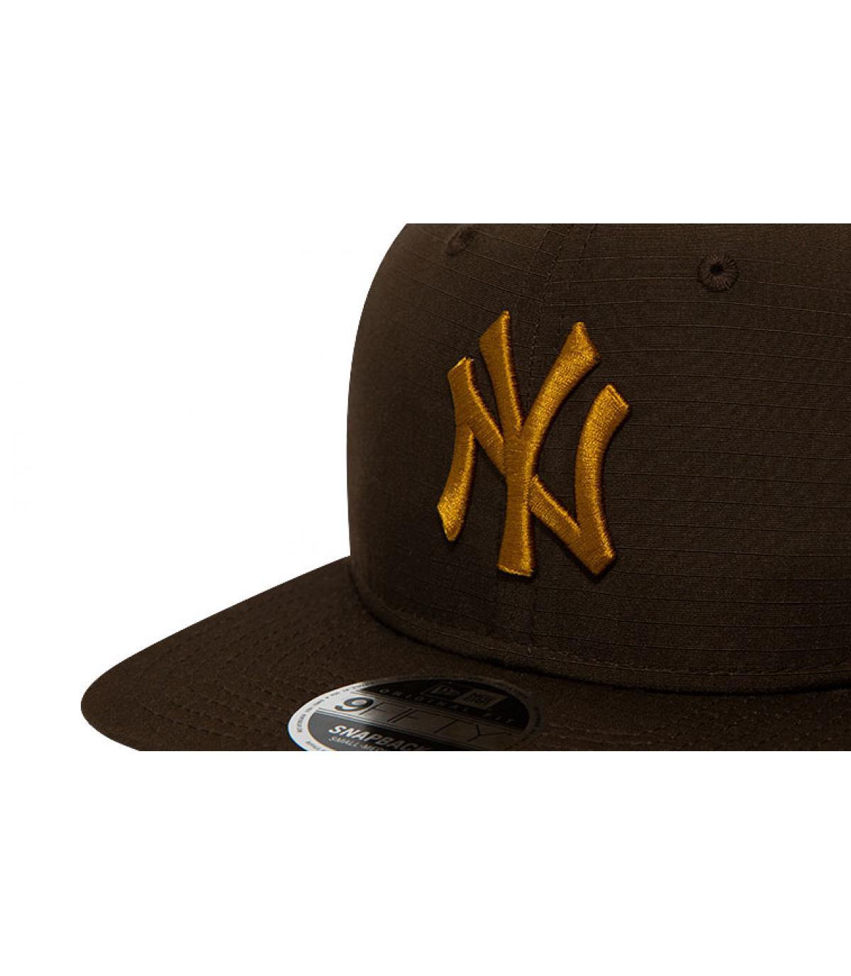 Détails Snapback MLB Utility NY 950 brown old gold - image 3