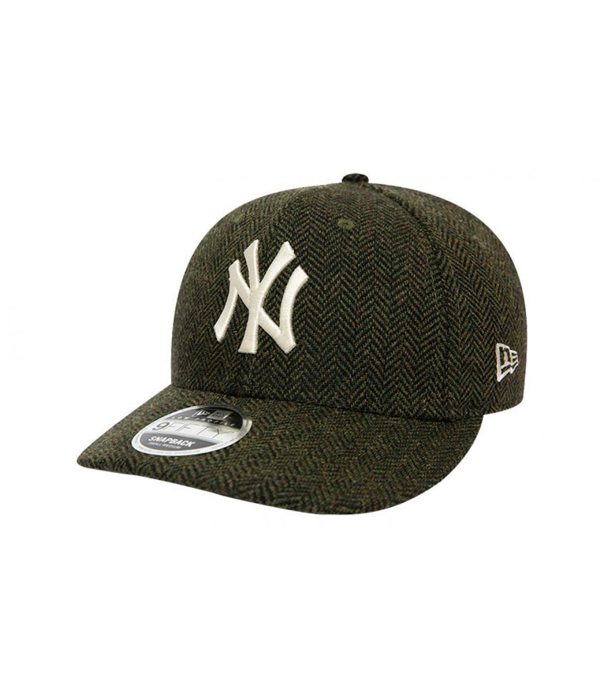 Détails Snapback MLB Tweed NY 950 army green - image 2