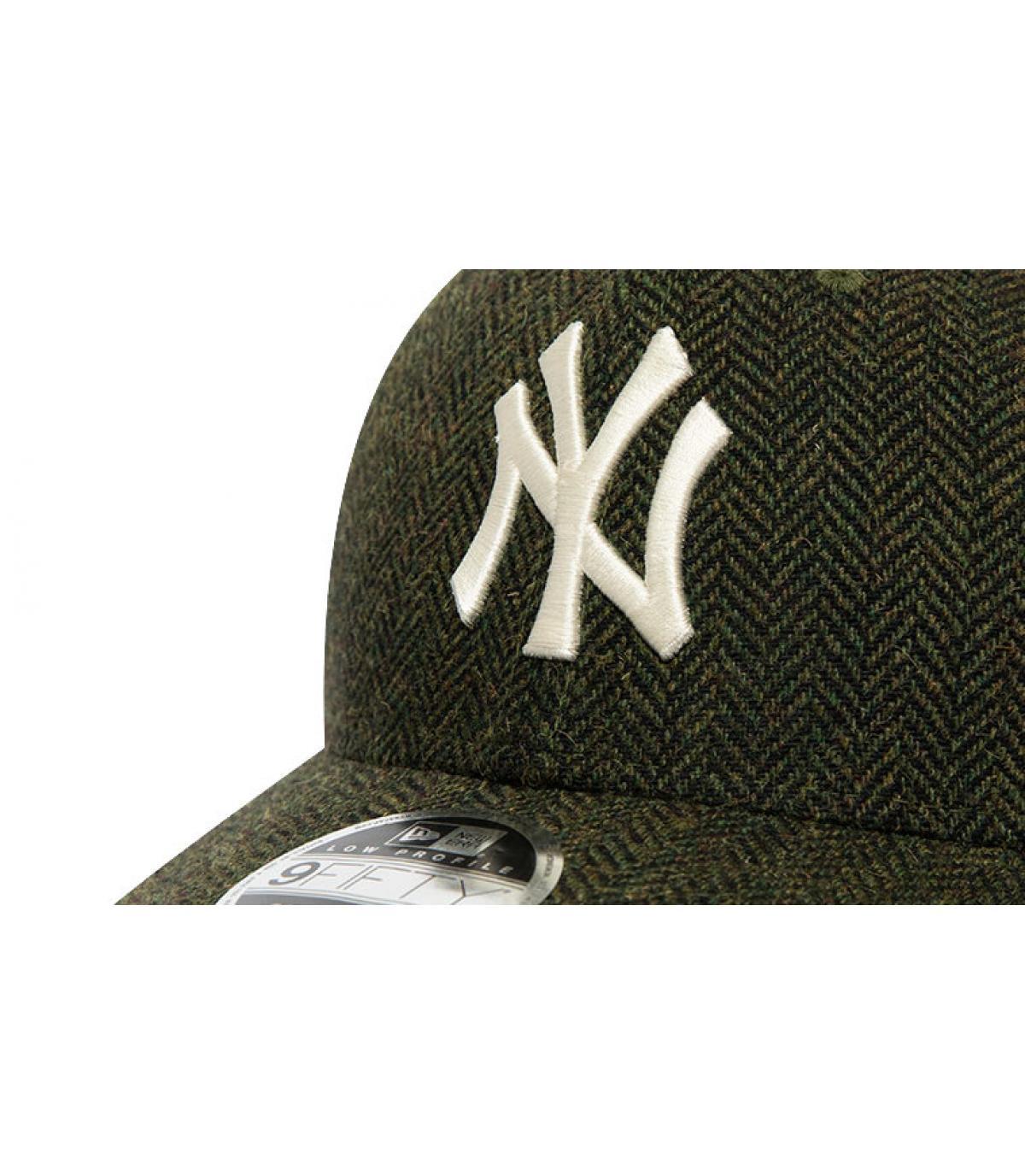 Détails Snapback MLB Tweed NY 950 army green - image 3