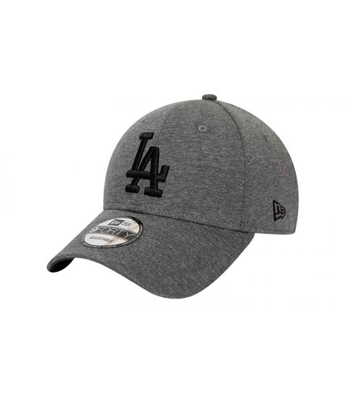casquette LA gris noir