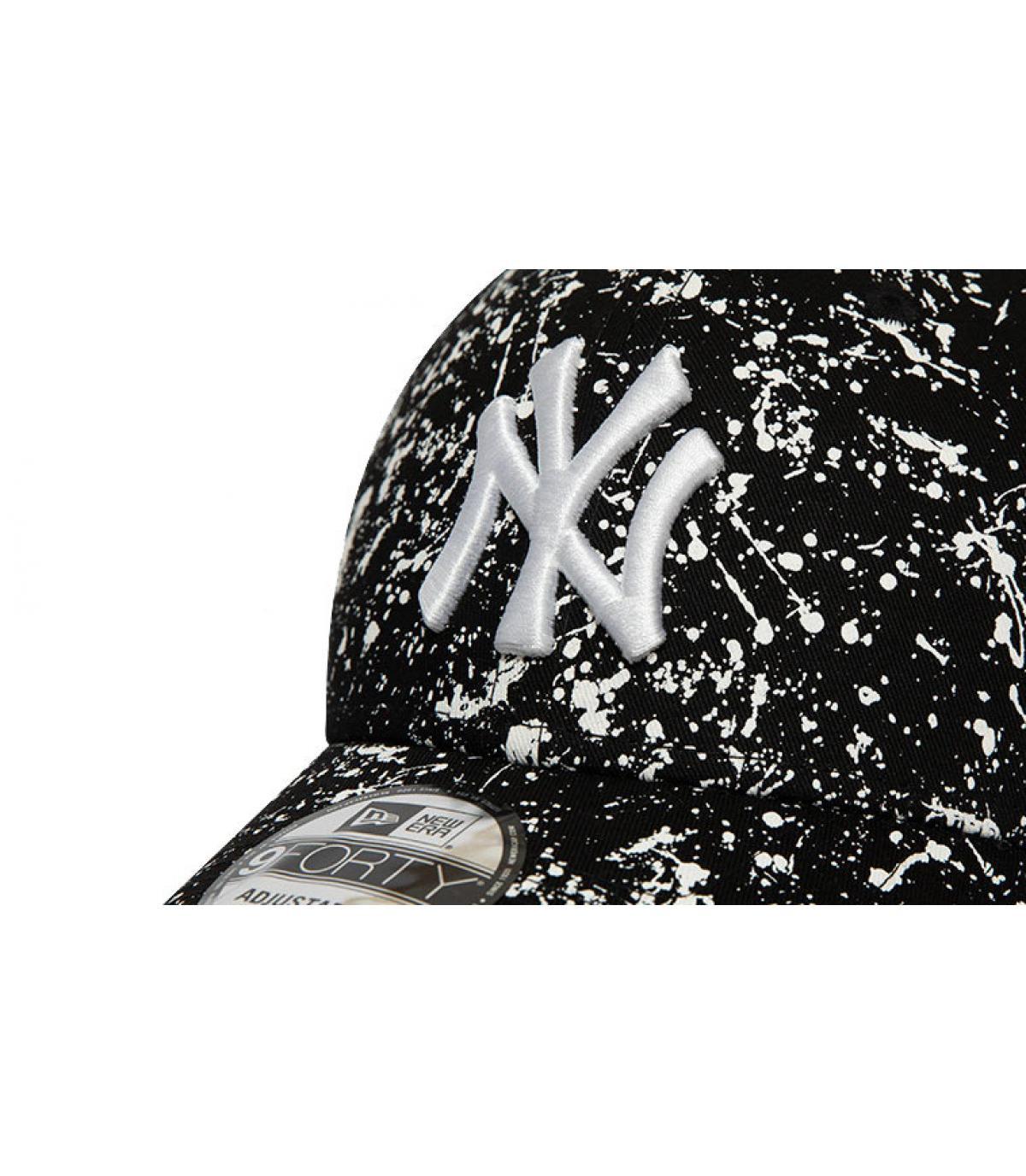 Détails Casquette MLB Paints NY 940 black - image 3