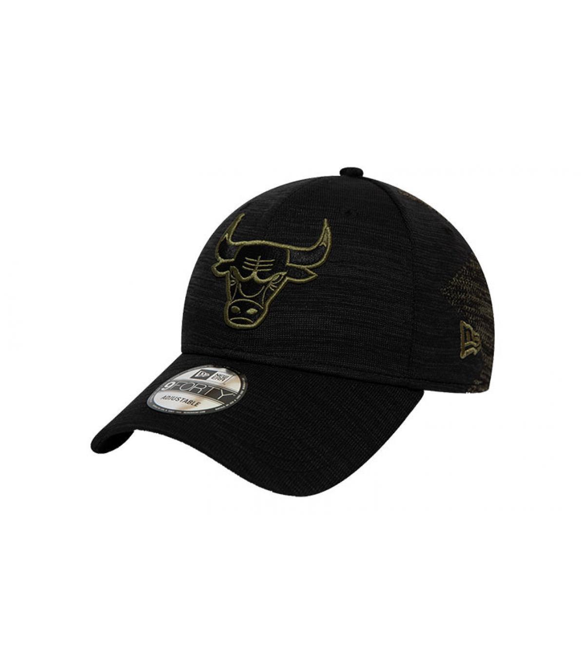 casquette Bulls noir vert