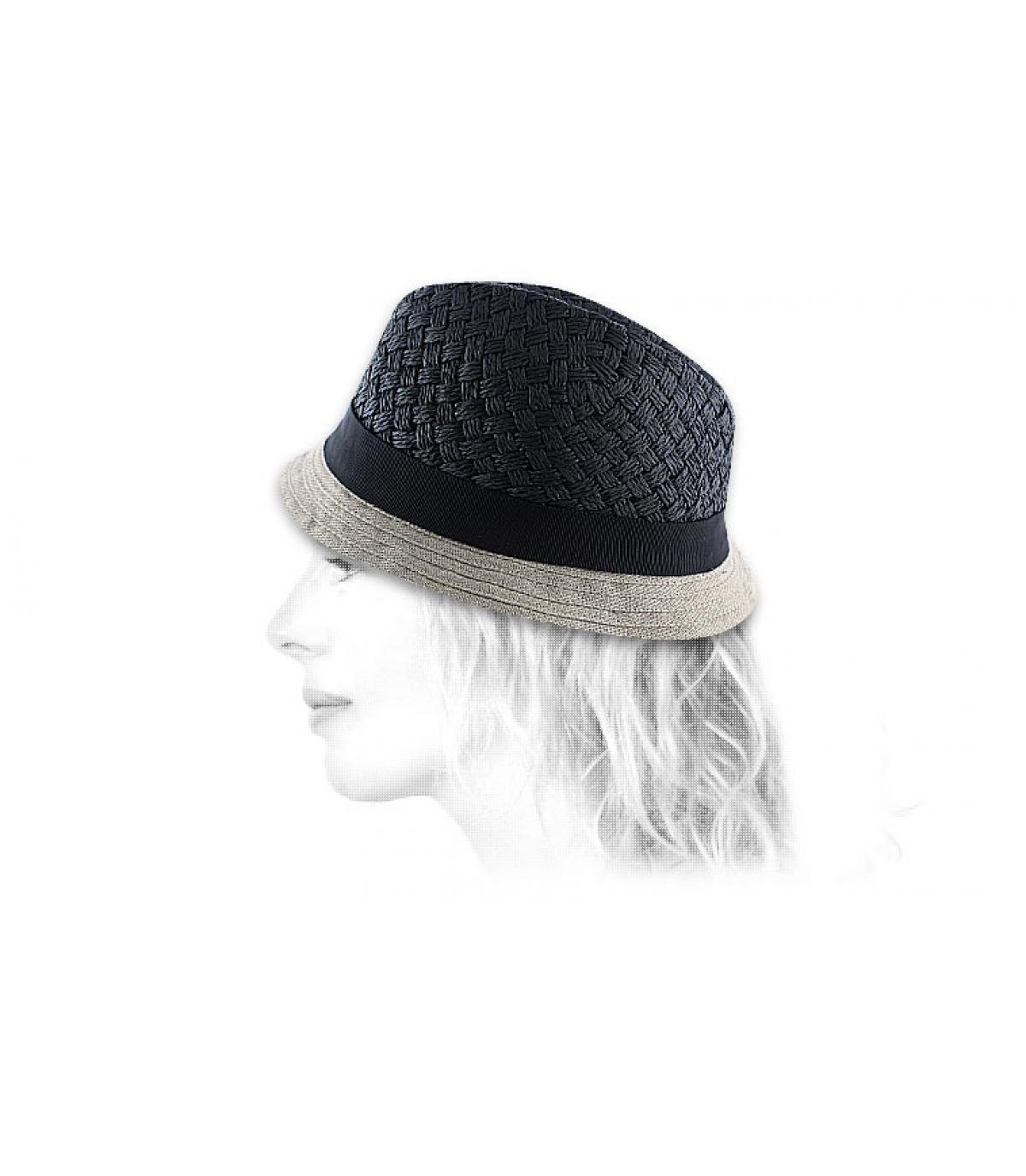 Chapeau Céline Robert noir