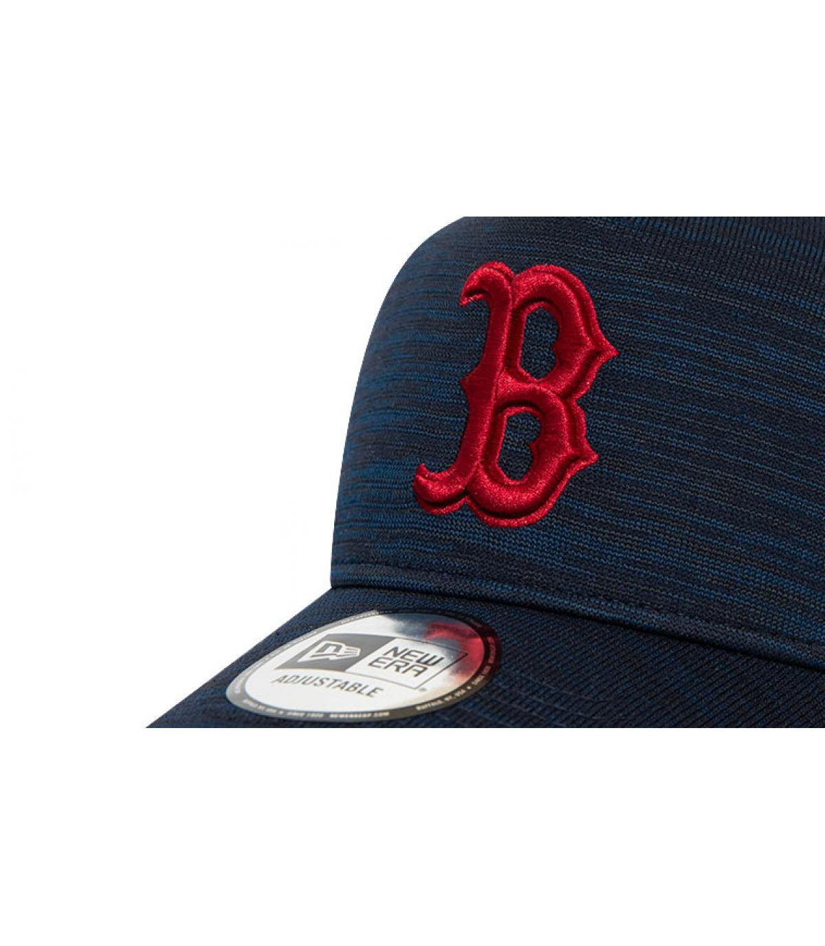 Détails Casquette Engineered Fit Boston Aframe navy cardinal - image 3