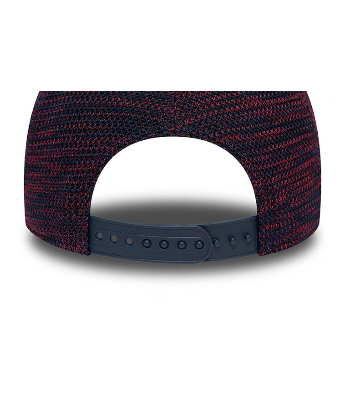 Détails Casquette Engineered Fit Boston Aframe navy cardinal - image 4