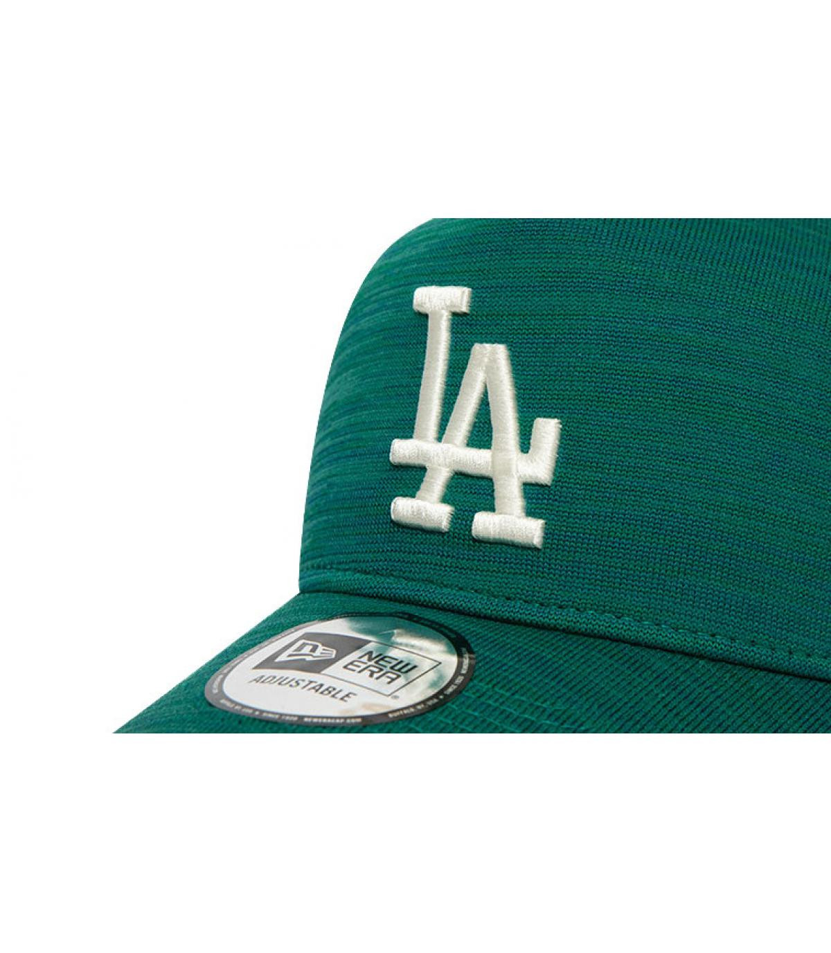 Détails Casquette Engineered Fit LA Aframe midnight green - image 3