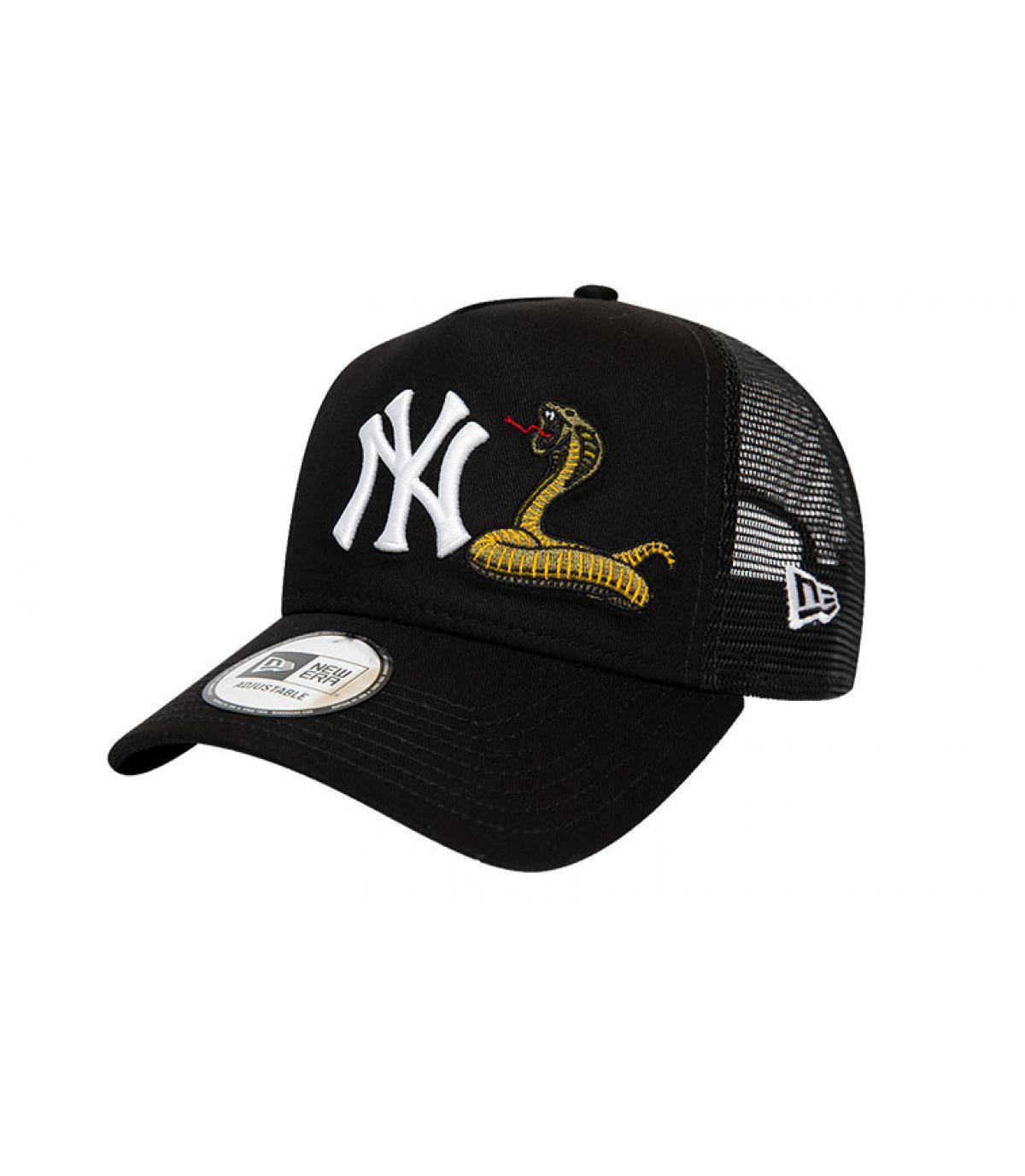 trucker NY noir serpent