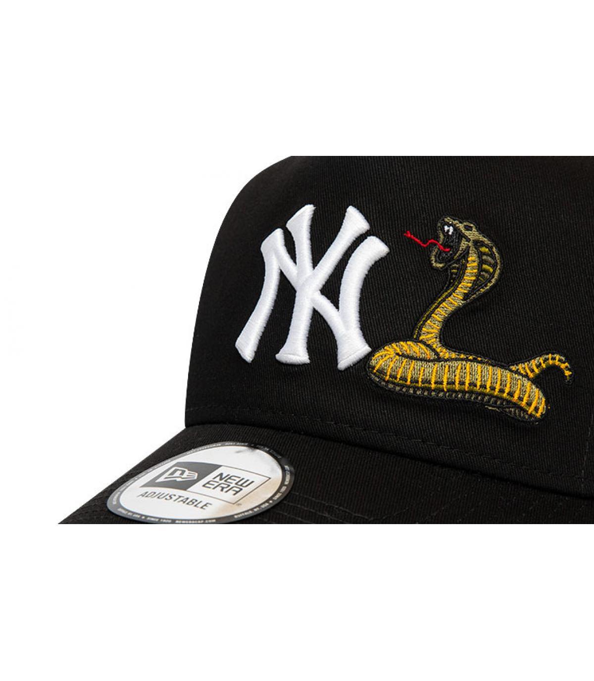 Détails Trucker MLB Twine NY black - image 3
