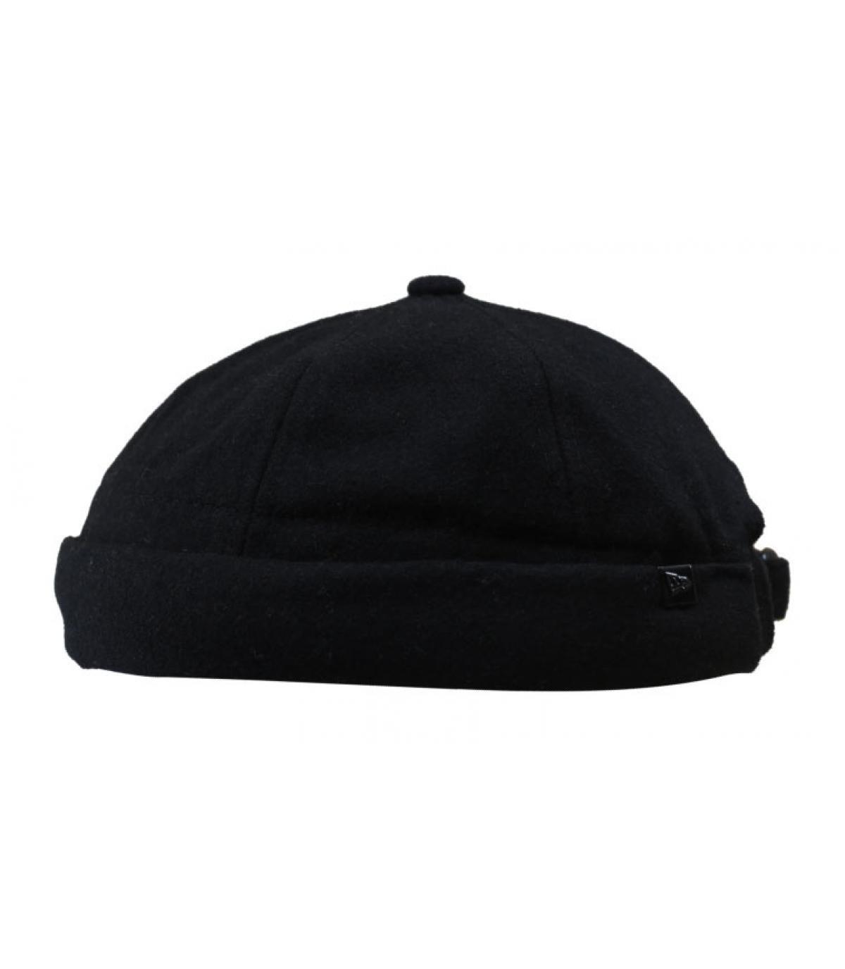 bonnet docker noir laine New Era