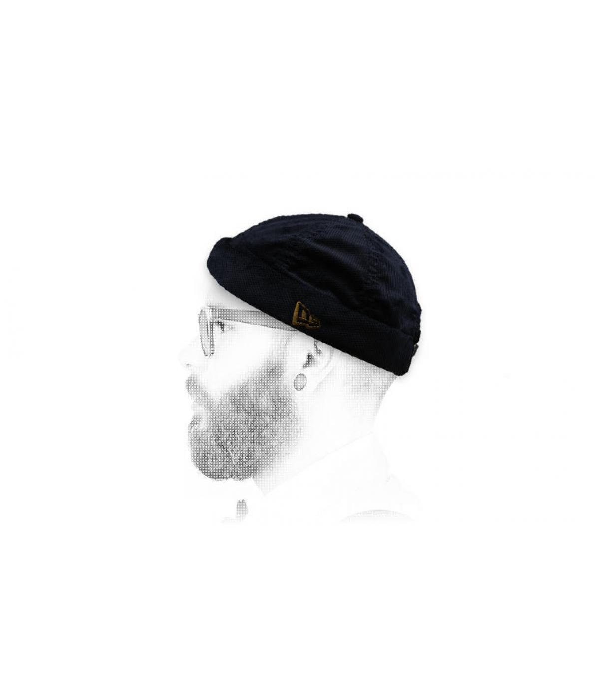 bonnet docker noir New Era