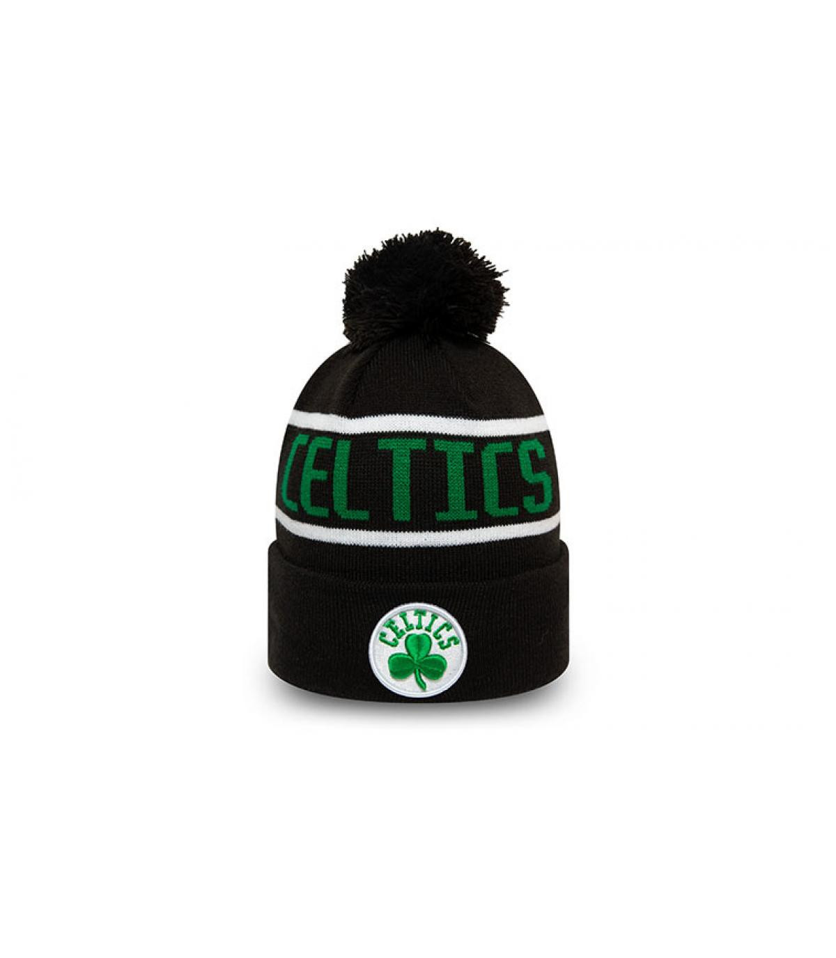 bonnet Celtics noir vert